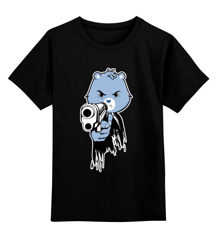 Детская футболка классическая унисекс Printio Мишка киллер киллер