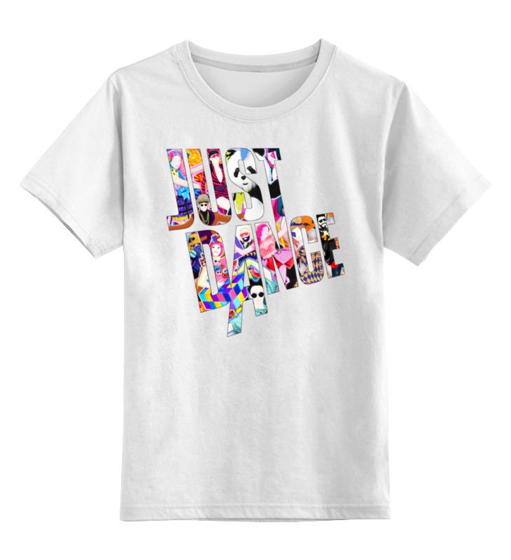 Детская футболка классическая унисекс Printio Just dance видеоигра для ps4 just dance 2018