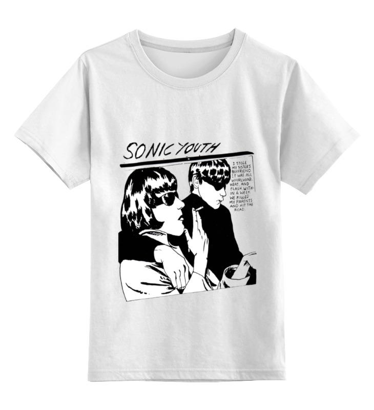 Детская футболка классическая унисекс Printio Sonic youth-goo майка классическая printio sonic youth goo
