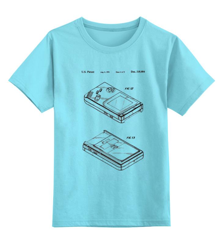 Детская футболка классическая унисекс Printio Gameboy детская футболка классическая унисекс printio don t hate the player gameboy