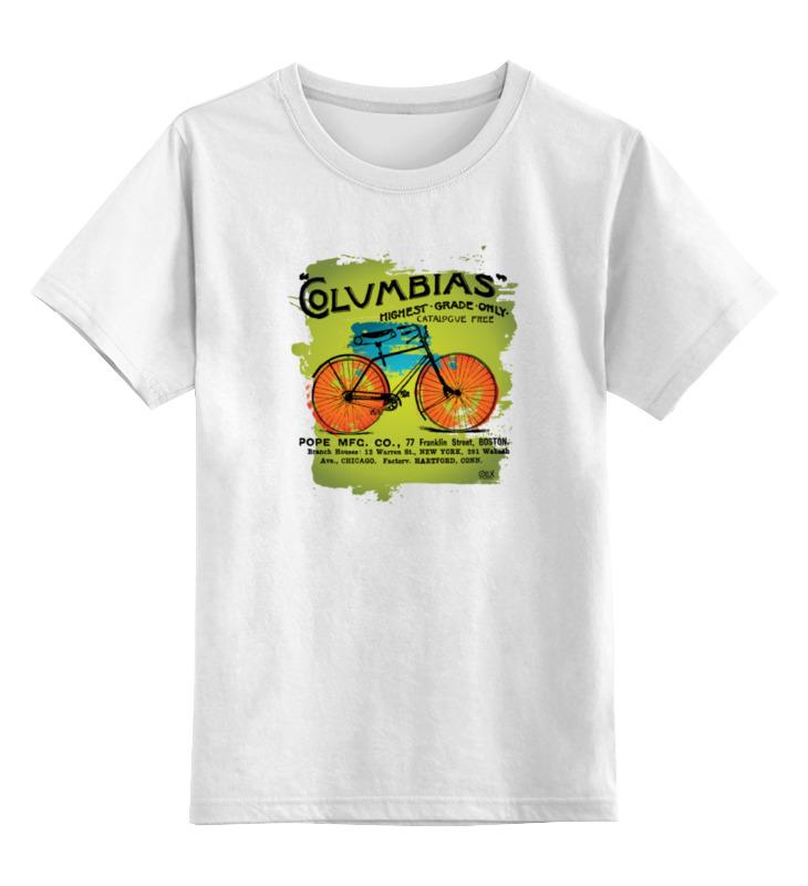 Детская футболка классическая унисекс Printio Винтажный велосипед майка классическая printio винтажный велосипед