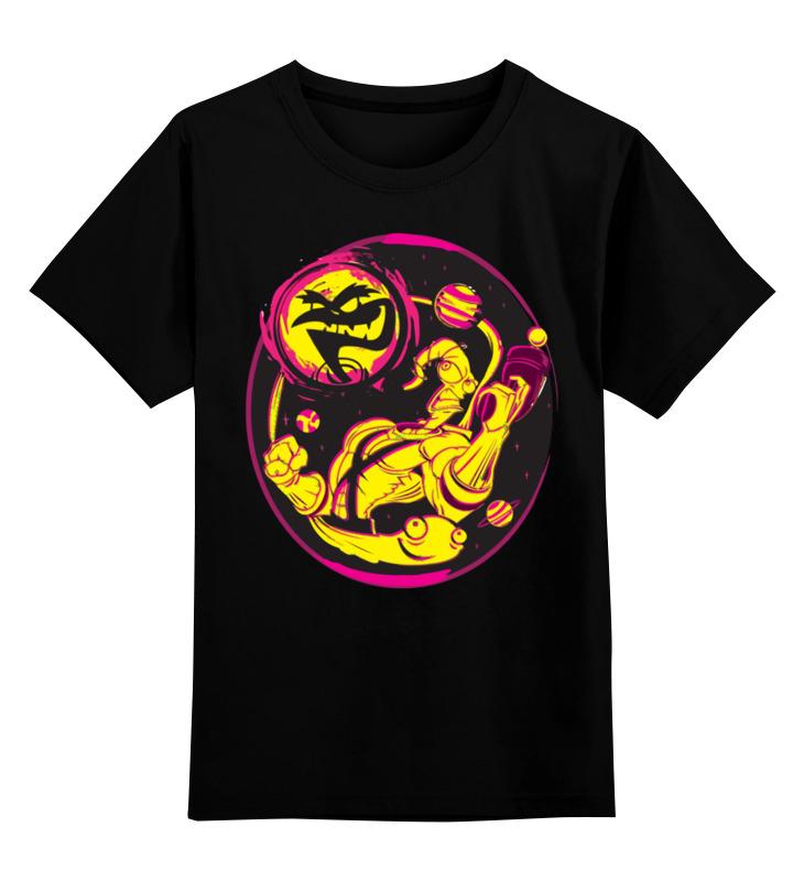 Детская футболка классическая унисекс Printio Червяк джим футболка с полной запечаткой для мальчиков printio червяк джим