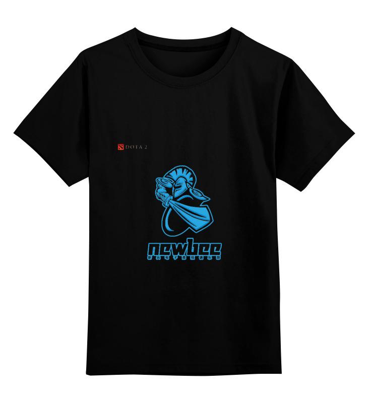 Детская футболка классическая унисекс Printio Newbee dota детская футболка классическая унисекс printio классическая футболка dota 2