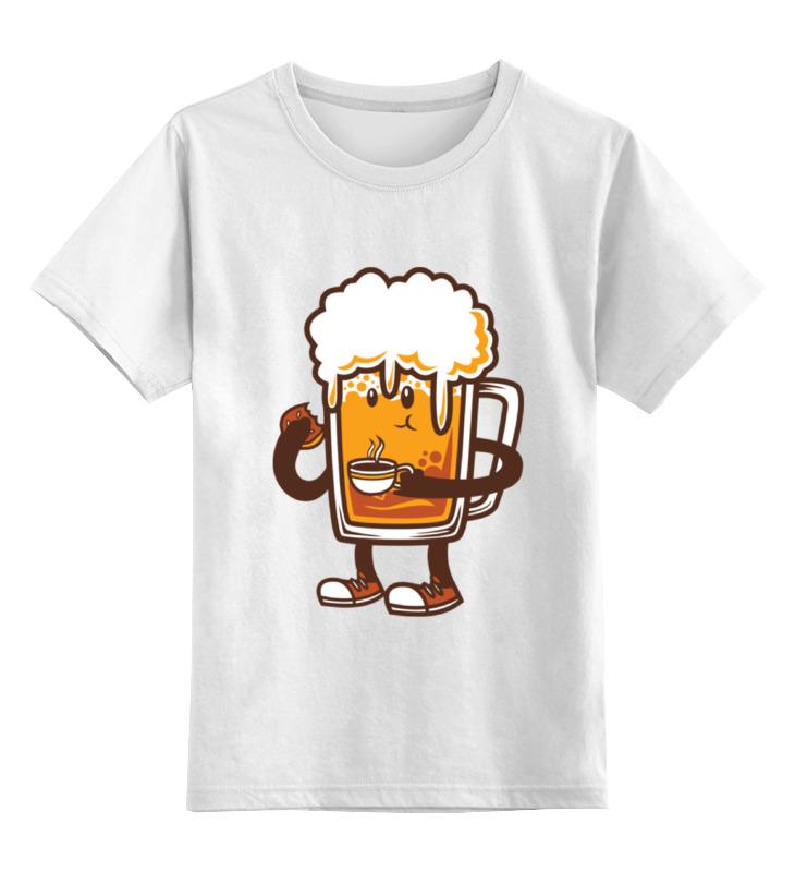 Детская футболка классическая унисекс Printio Пиво. детская футболка классическая унисекс printio ячмень солод вода пиво
