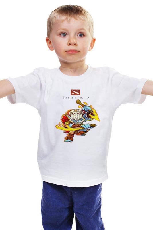 Детская футболка классическая унисекс Printio Дота 2 хускар футболка классическая printio dota 2 дота 2
