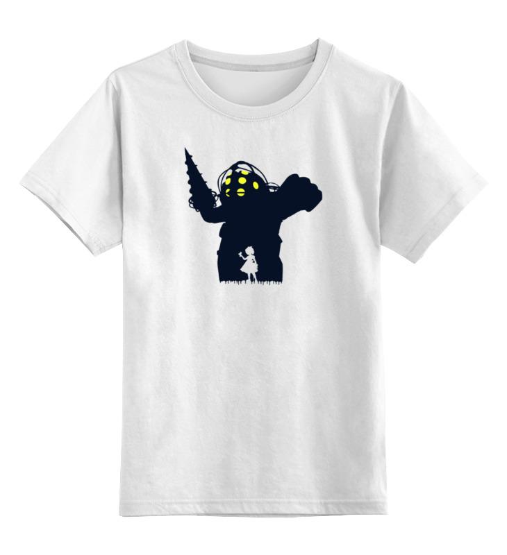 Детская футболка классическая унисекс Printio Биошок игра для xbox just dance 2018