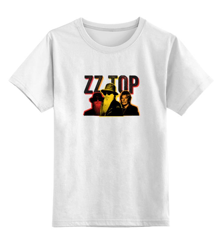 Детская футболка классическая унисекс Printio Zz top! zz top – fandango lp