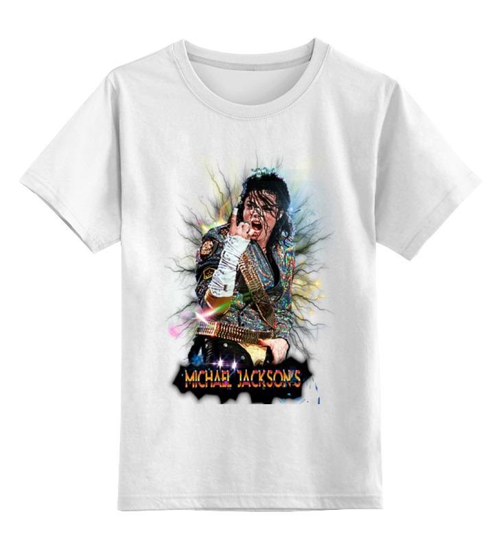 Детская футболка классическая унисекс Printio Майкл джексон