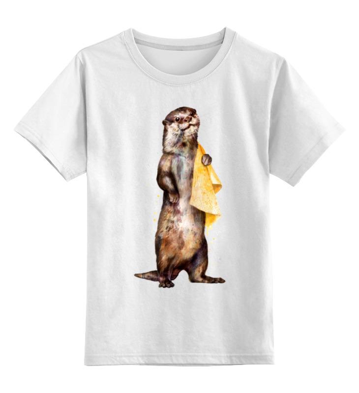 Детская футболка классическая унисекс Printio Хорёк футболка классическая printio хорёк