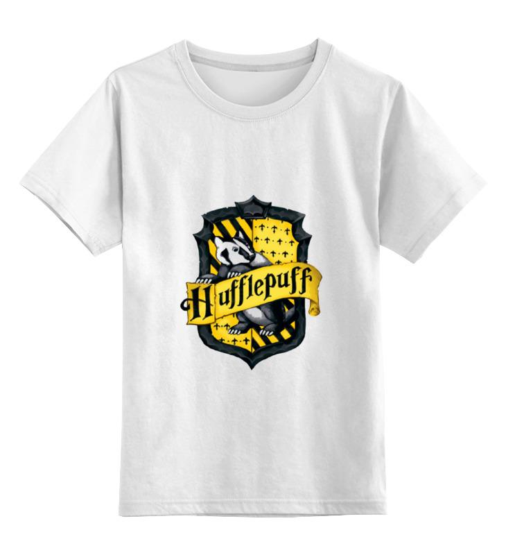 Фото - Детская футболка классическая унисекс Printio Hufflepuffs лонгслив printio hufflepuffs