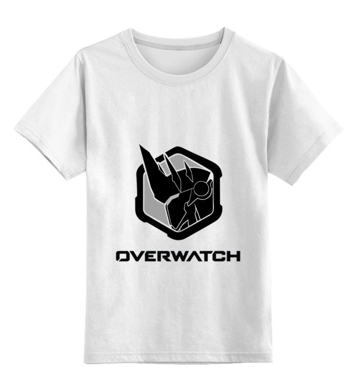 Детская футболка классическая унисекс Printio Overwatch reinhardt bw cd диск django reinhardt souvenirs de django reinhardt 1 cd