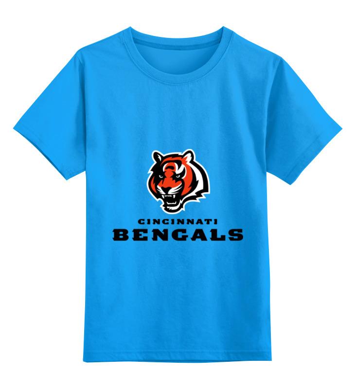 Детская футболка классическая унисекс Printio Cincinnati bengals