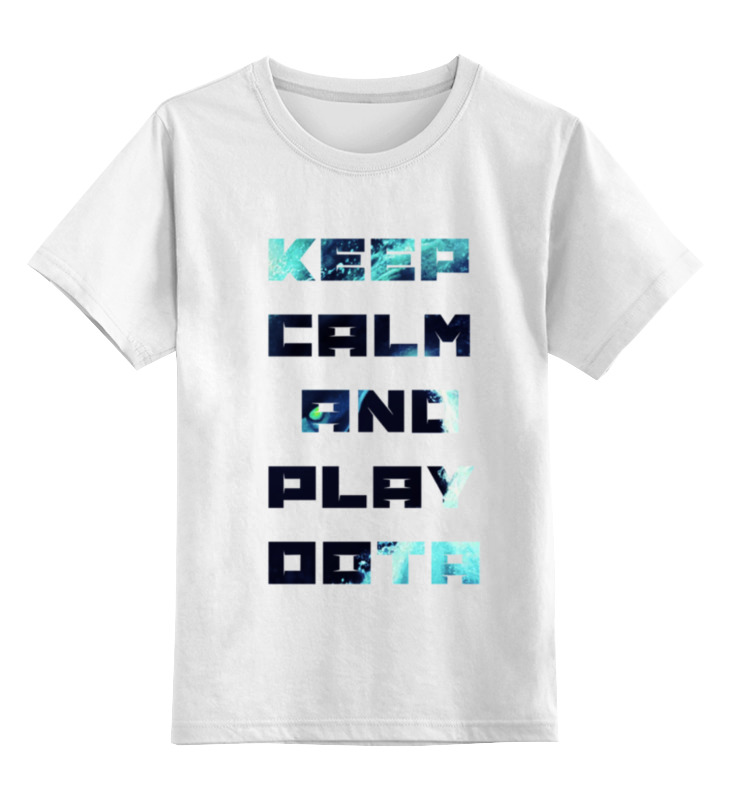 Детская футболка классическая унисекс Printio Dota2 d dota2 dota2 15 1500