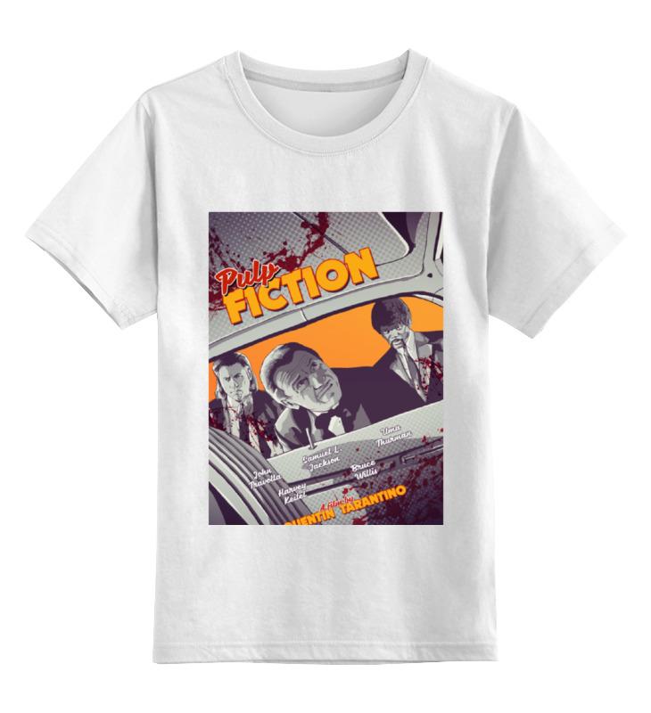 Детская футболка классическая унисекс Printio Криминальное чтиво / pulp fiction