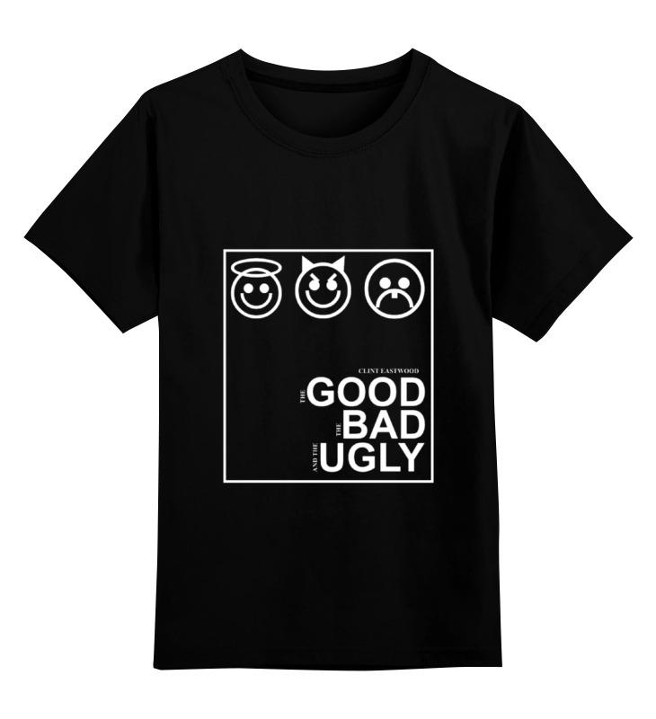 Детская футболка классическая унисекс Printio Хороший, плохой и злой johnson s baby детская присыпка 100 г