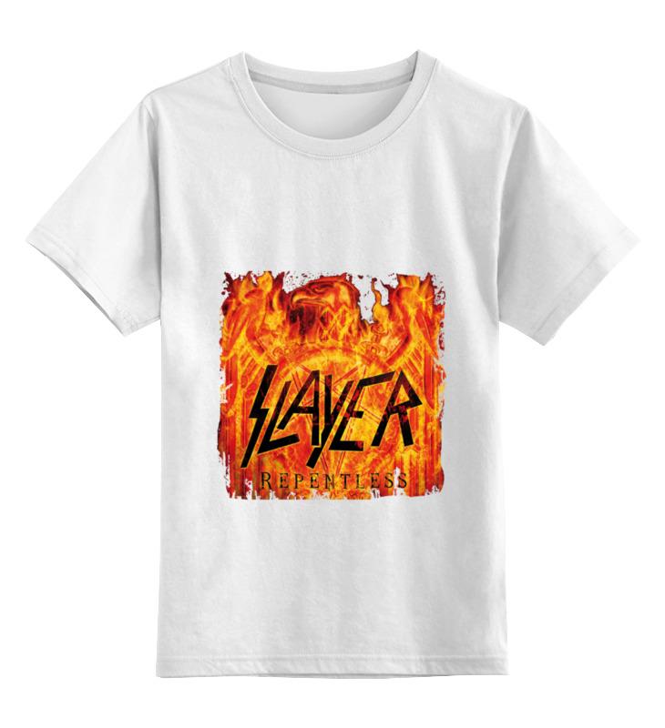 Детская футболка классическая унисекс Printio Slayer repentless 2015 майка классическая printio slayer season in the abyss 1990
