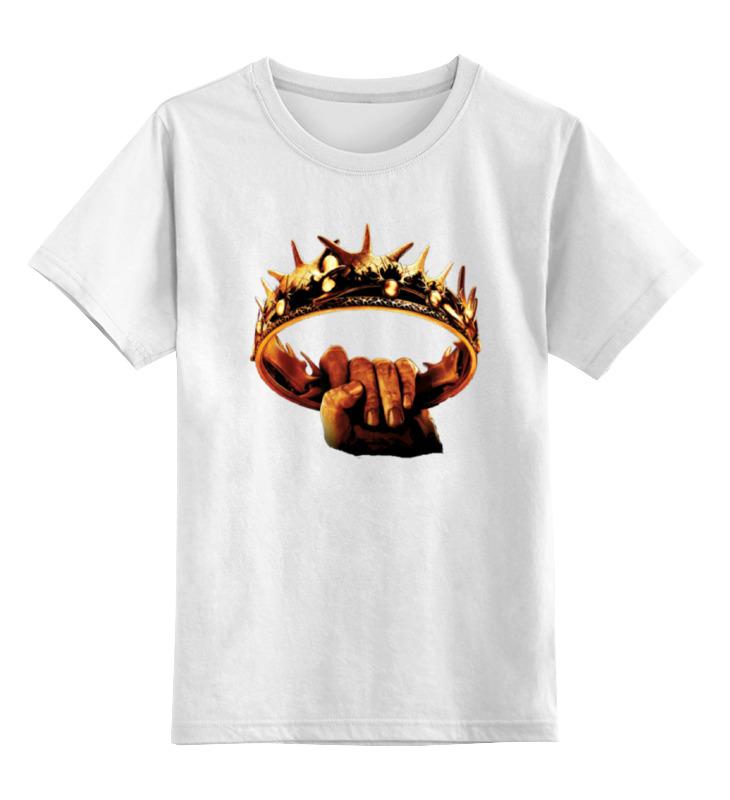 Детская футболка классическая унисекс Printio Winter is coming футболка классическая printio zombies is coming