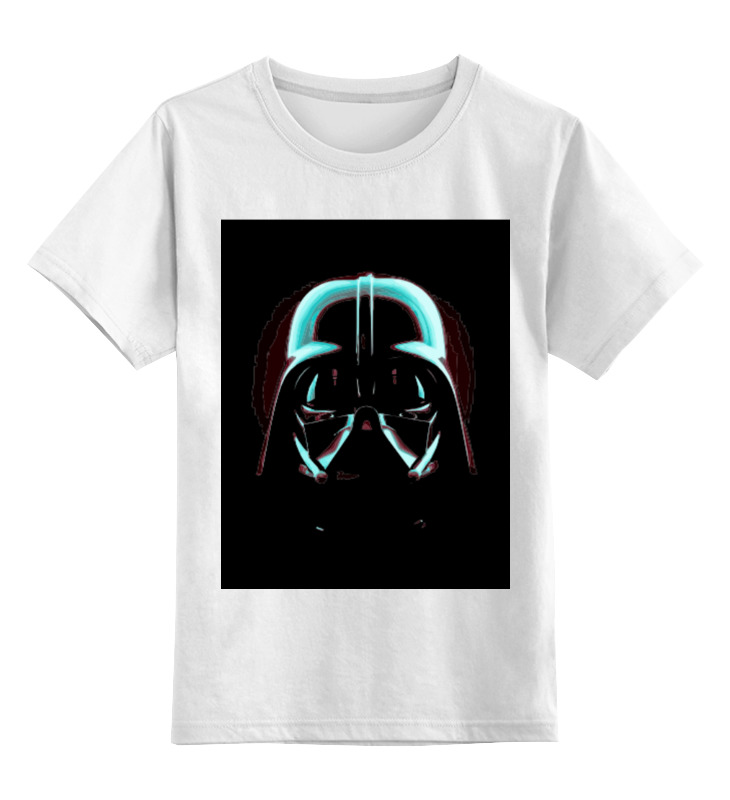 Printio Darth vader - blаck детская футболка классическая унисекс printio darth vader и слон
