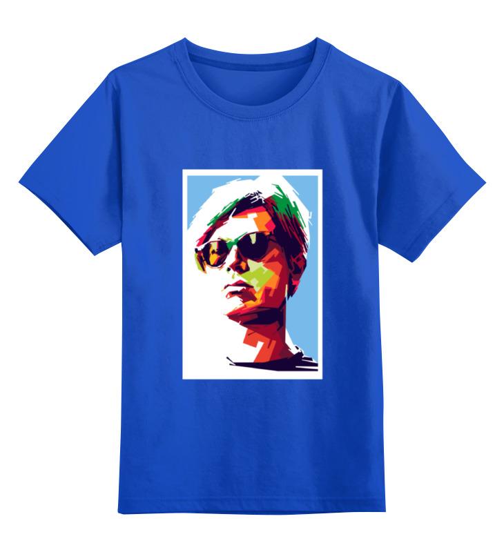 Детская футболка классическая унисекс Printio Энди уорхол инграм кэтрин гениальный уорхол