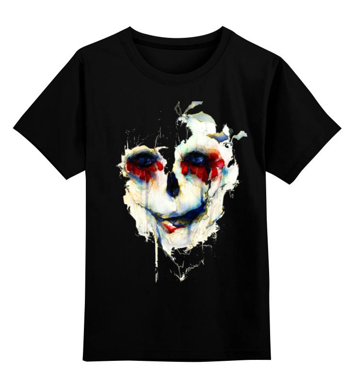 Детская футболка классическая унисекс Printio Череп (skull) детская футболка классическая унисекс printio череп мезенская роспись