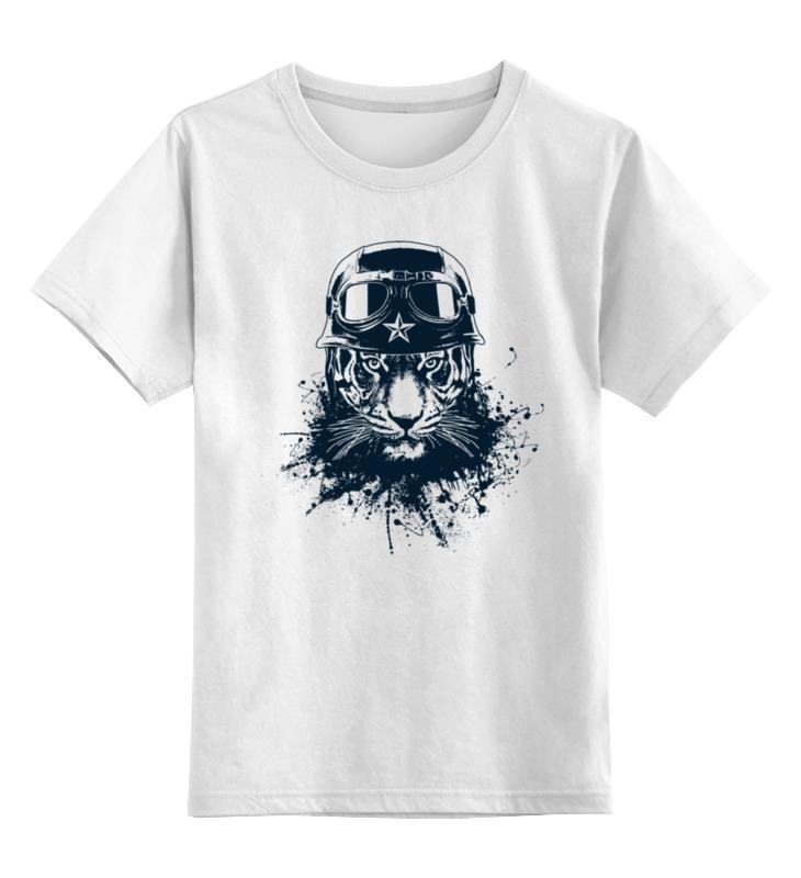 Детская футболка классическая унисекс Printio Тигр боец майка классическая printio тигр боец