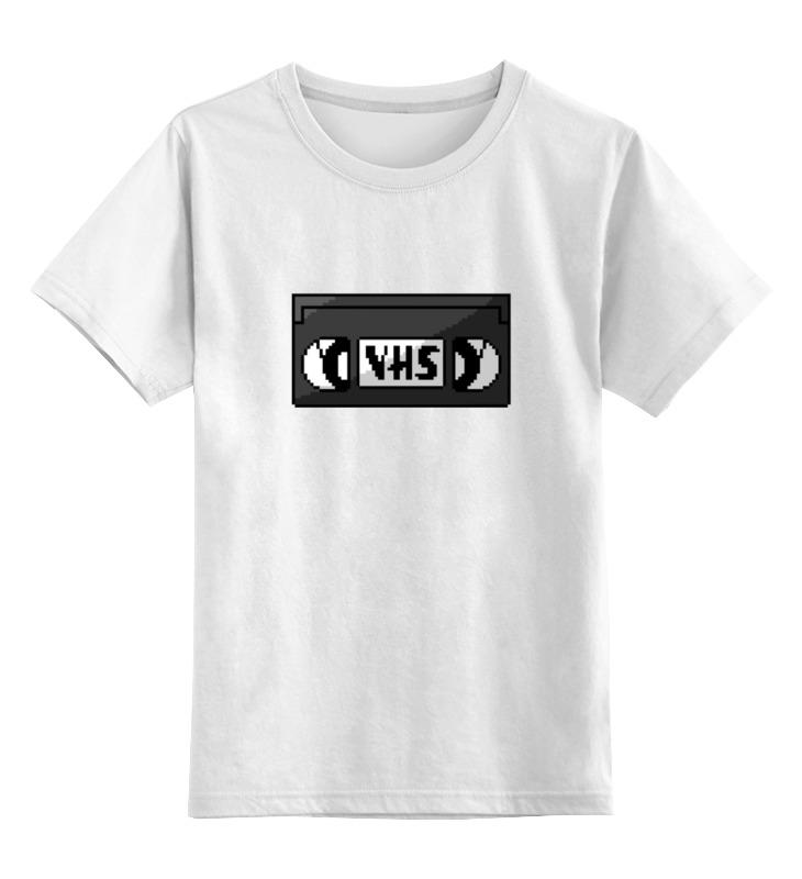 Детская футболка классическая унисекс Printio Видеокассета