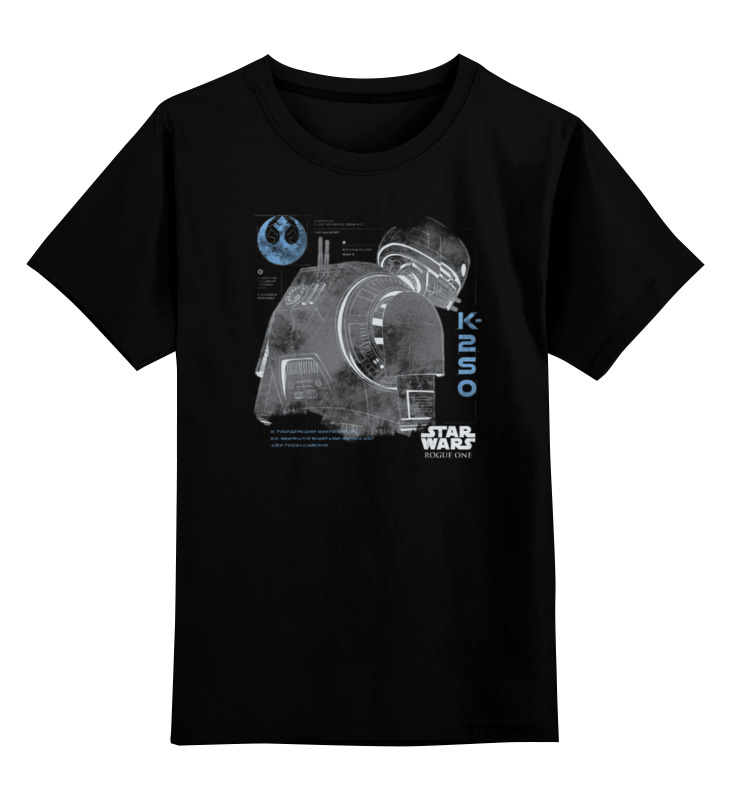 Детская футболка классическая унисекс Printio Дроид k-2so футболка wearcraft premium printio дроид k 2so