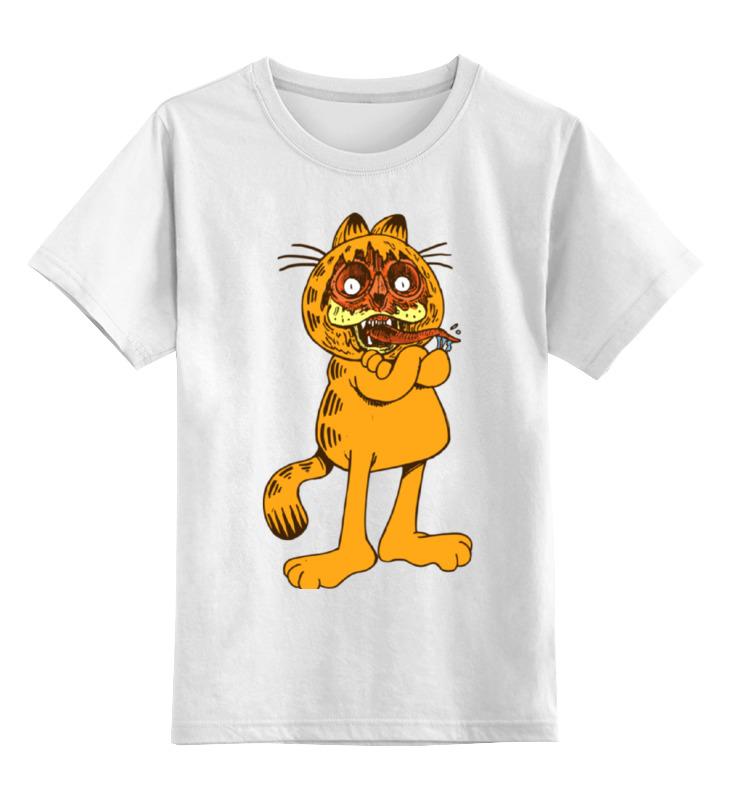 Детская футболка классическая унисекс Printio Кот гарфилд свитшот print bar эндрю гарфилд