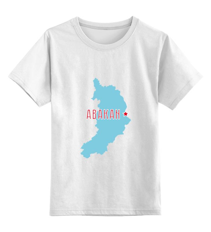 Детская футболка классическая унисекс Printio Республика хакасия. абакан мазда двс zl датчик распредвала абакан