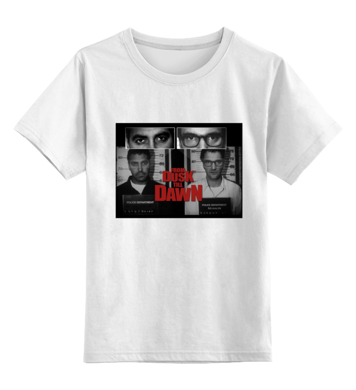 Детская футболка классическая унисекс Printio От заката до рассвета