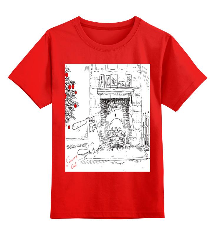 Printio Кот саймона. детская футболка классическая унисекс printio дождливый вечер