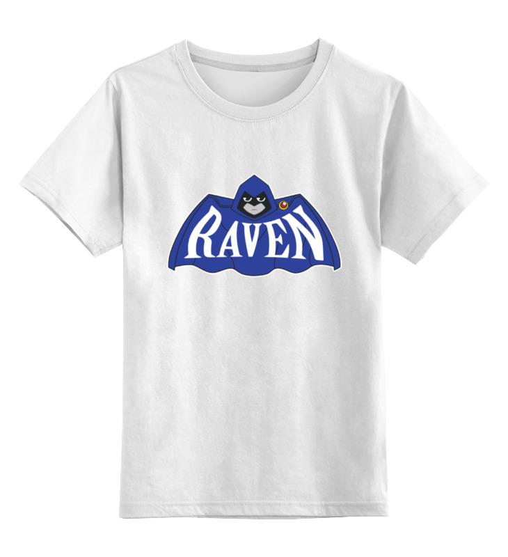 Фото - Детская футболка классическая унисекс Printio Рэйвен детская футболка классическая унисекс printio ворон свободы