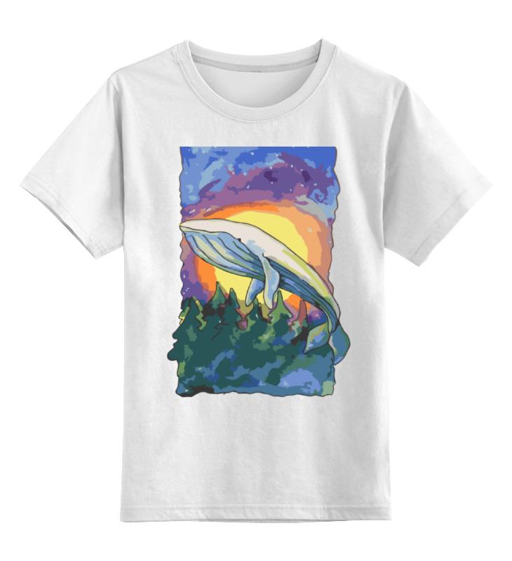 Детская футболка классическая унисекс Printio Волшебный кит футболка wearcraft premium printio волшебный кит