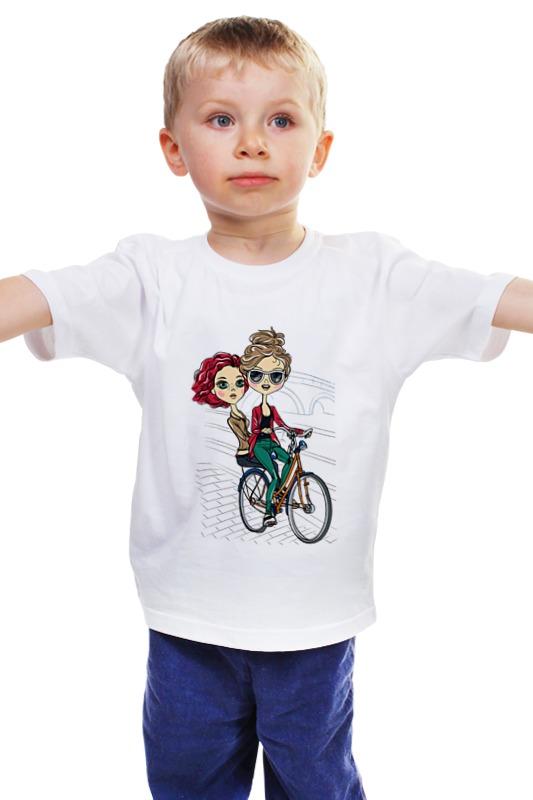Детская футболка классическая унисекс Printio Велосипедистки детская футболка классическая унисекс printio мачете