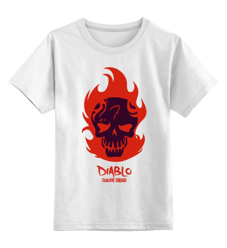 Детская футболка классическая унисекс Printio Диабло (отряд самоубийц) холст 30x40 printio отряд самоубийц