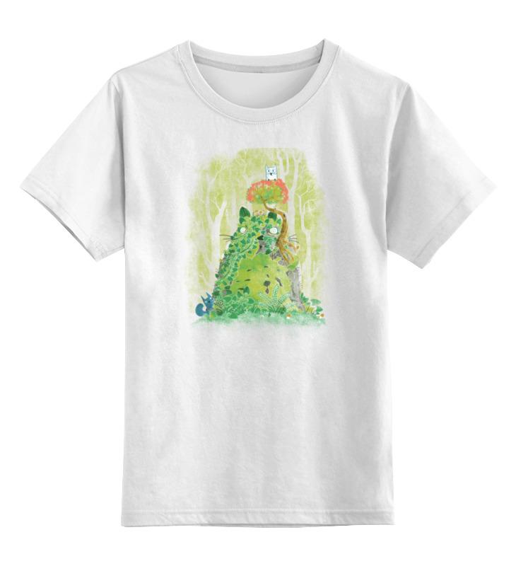 Детская футболка классическая унисекс Printio Лесные друзья игровые центры oribel лесные друзья