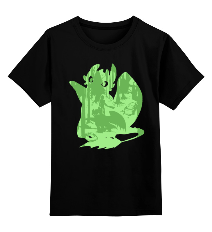 Детская футболка классическая унисекс Printio Как приручить дракона 30cm 2014 how to train your dragon 2 night fury plush toy toothless dragon stuffed plush toy animal dolls gifts for kids