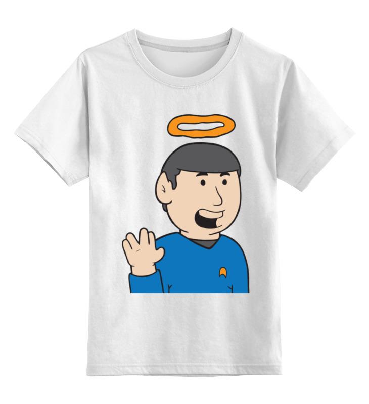 Детская футболка классическая унисекс Printio Спок (звездный путь) ff2e83977afec
