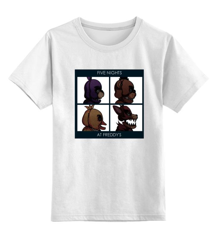 Детская футболка классическая унисекс Printio Five nights at freddy's цена и фото