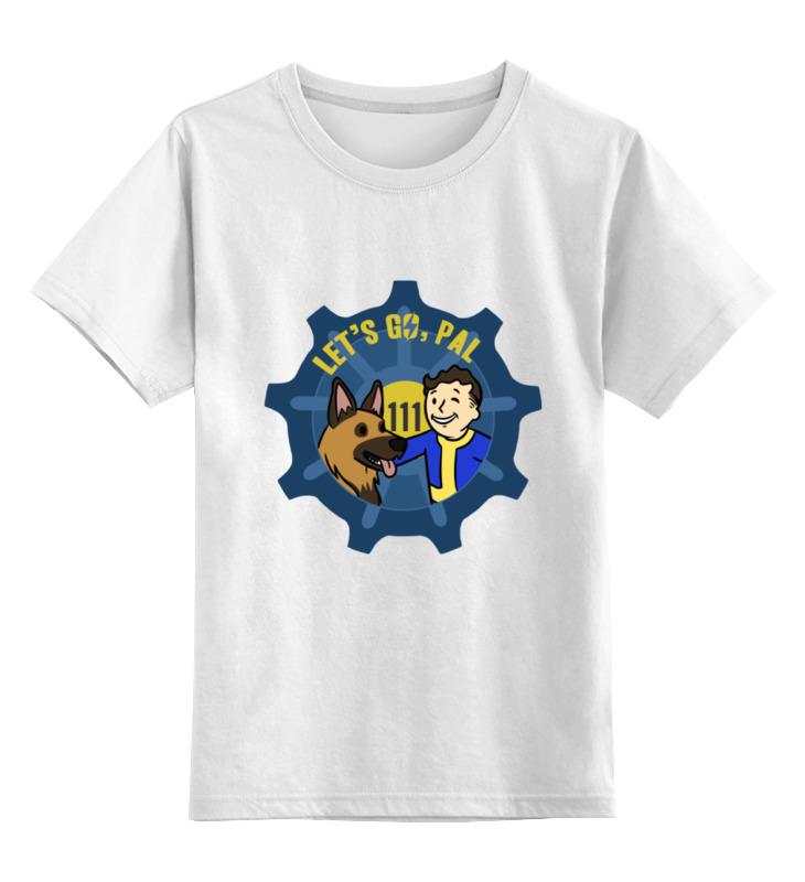 Детская футболка классическая унисекс Printio Фоллаут (  fallout ) футболка классическая printio fallout фэллаут