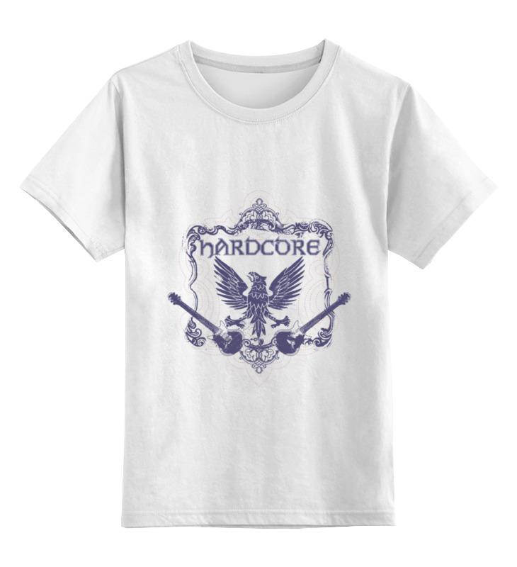 Детская футболка классическая унисекс Printio Hardcore детская мебель орел