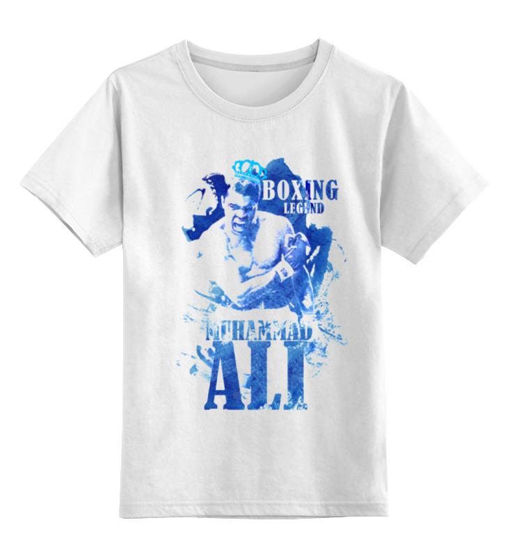 Детская футболка классическая унисекс Printio Легенды бокса:мухамед али футболка трешер на али