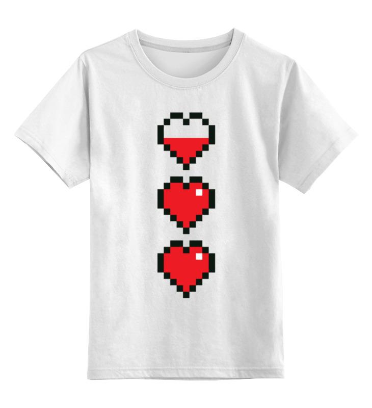Printio Сердце детская футболка классическая унисекс printio джойстик и сердце