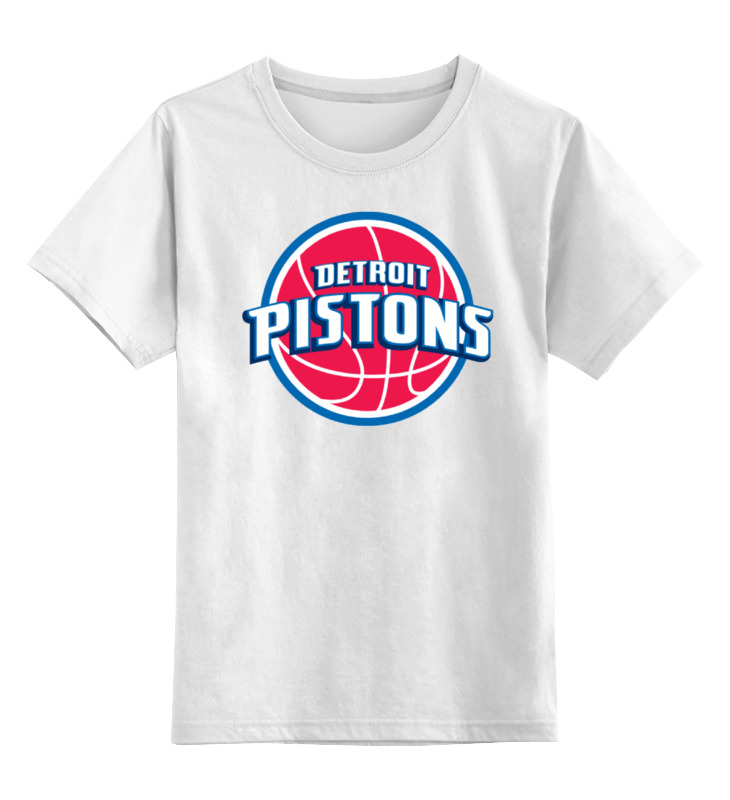 Детская футболка классическая унисекс Printio Detroit pistons
