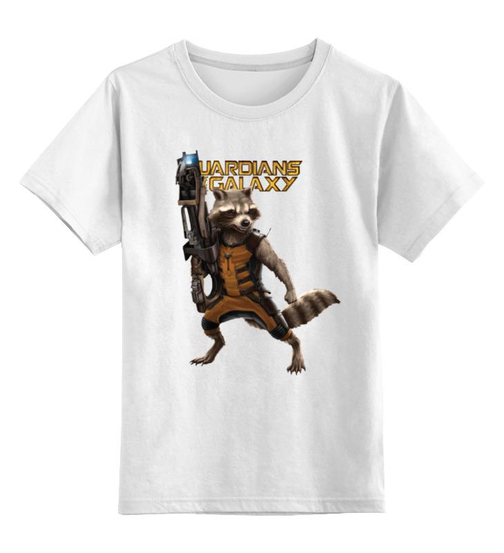 Детская футболка классическая унисекс Printio Ракета
