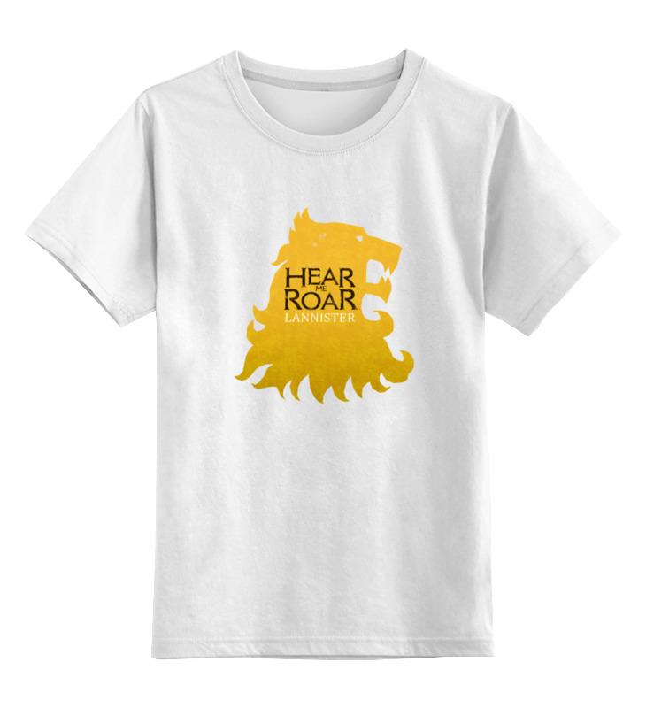 цена на Детская футболка классическая унисекс Printio House lannister