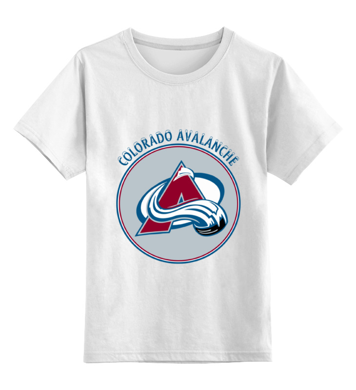Детская футболка классическая унисекс Printio Колорадо эвеланш цена