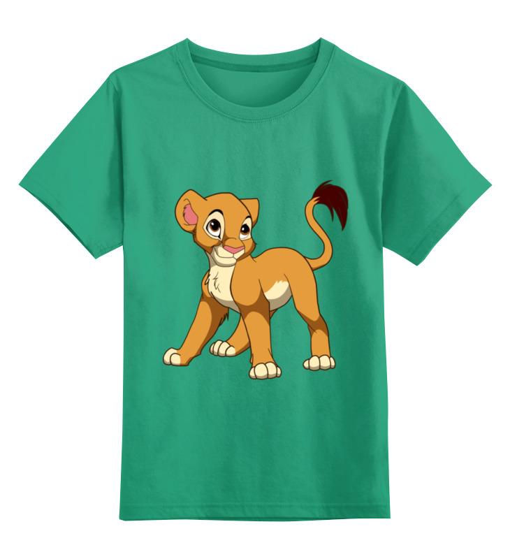 Детская футболка классическая унисекс Printio Львенок mooncase цвет как на картинке другие