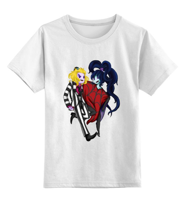 Детская футболка классическая унисекс Printio Битлджус