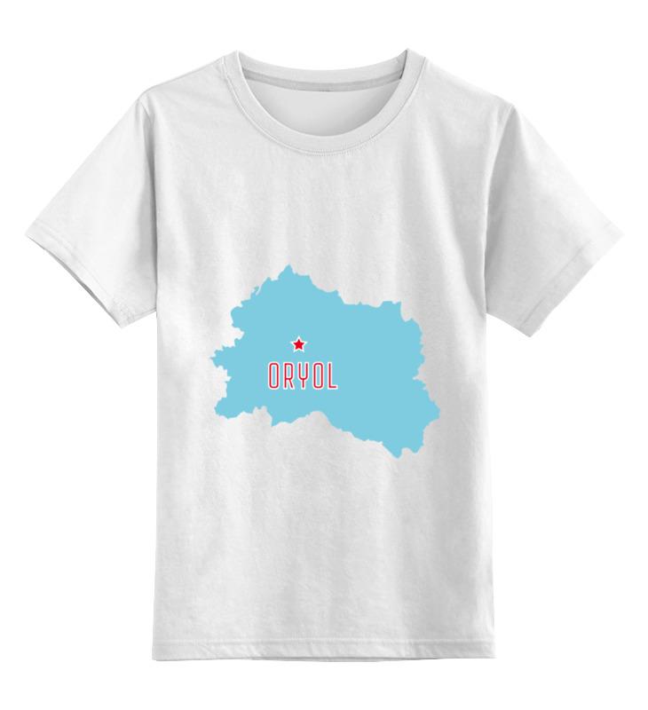 Детская футболка классическая унисекс Printio Орловская область. орел детская мебель орел